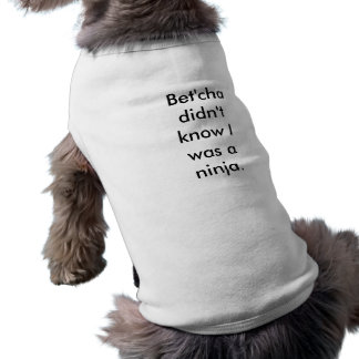 Ninja puppy shirt