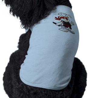 ninja rabbit cartoon dog clothes