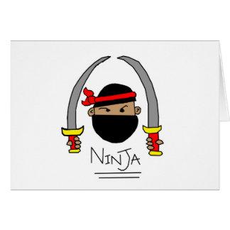 Ninja Range Card