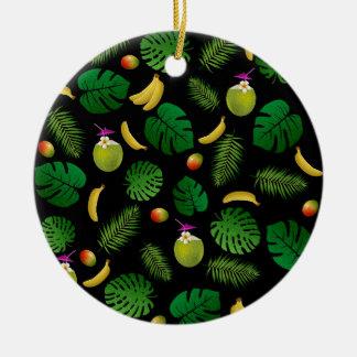 Ninja Round Ceramic Ornament