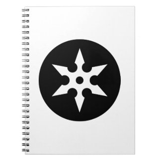 Ninja Shuriken Ideology Notebooks