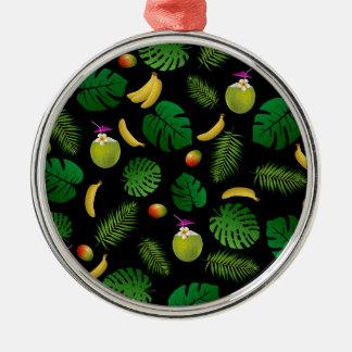 Ninja Silver-Colored Round Ornament
