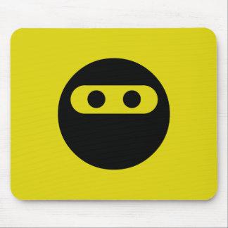 Ninja Smiley Mouse Pad