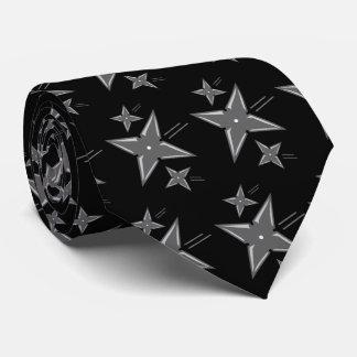 Ninja Star Tie