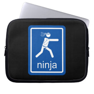 ninja universal sign. laptop sleeve