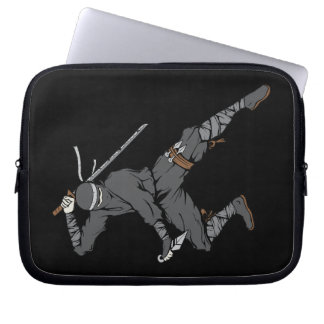 Ninja Warrior Martial Arts Laptop Sleeves