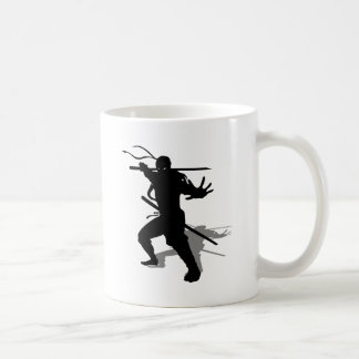 Ninja with shade coffee mug
