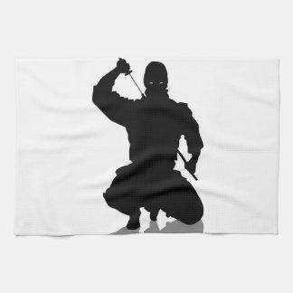 Ninja with Sword Kitchen Towel