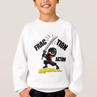"Ninjabra - Wasabi ""Fraction Action"" Sweatshirt"