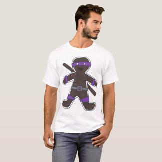 Ninjabread Man (Purple) T-Shirt