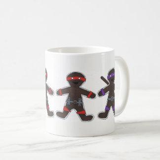 Ninjabread Men Coffee Mug