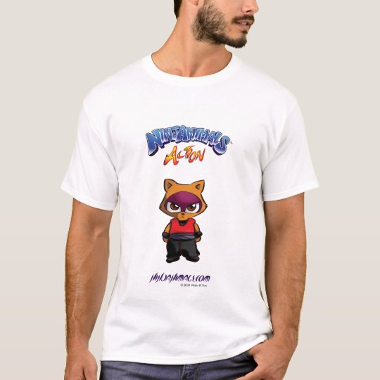 Ninjanimals Action Raken 01 T-Shirt