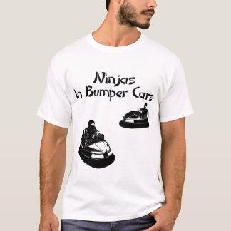 Ninjas In Bumper Cars - light T-Shirt