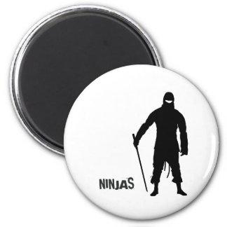 Ninjas Fridge Magnets