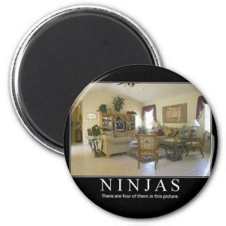 ninjas refrigerator magnets