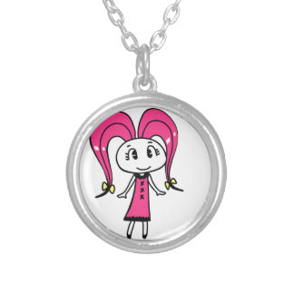 ninjironi silver plated necklace