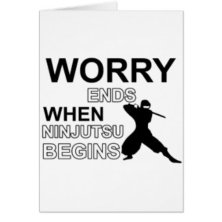 Ninjutsu Design Card