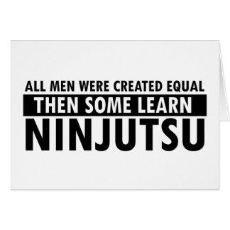 Ninjutsu designs card