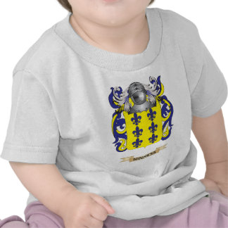 Ninness Coat of Arms (Family Crest) T Shirts
