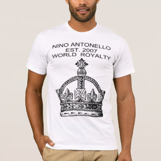 Nino Antonello Est. 2007 World Royalty Crown Pic T-Shirt