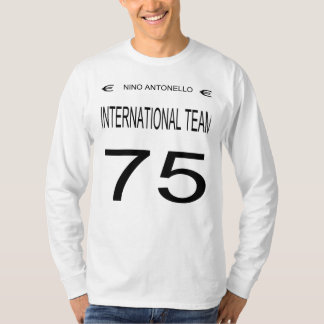 Nino Antonello Euro International Team 75 Black T-Shirt