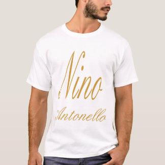 Nino Antonello Gold Fancy Writing - Customized T-Shirt