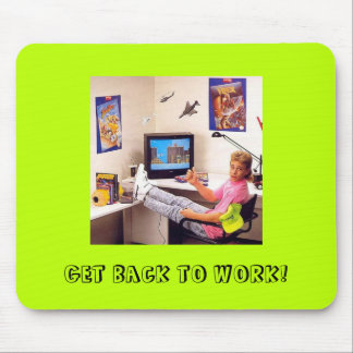 Nintendo Power 80's Dude: A Motivational Mousepad