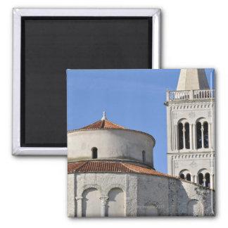 Ninth-century pre-Romanesque Church Square Magnet