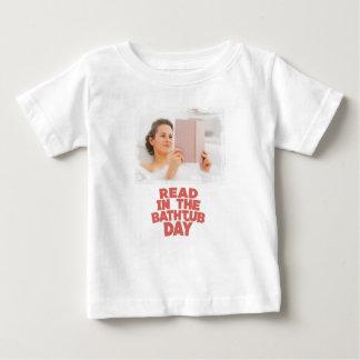 Ninth February - Read In The Bathtub Day Baby T-Shirt