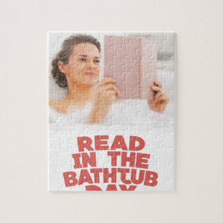 Ninth February - Read In The Bathtub Day Puzzle