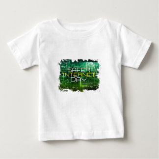 Ninth February - Safer Internet Day Baby T-Shirt