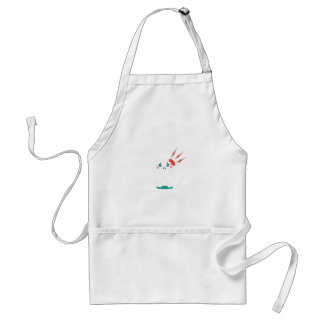 Ninth February - Toothache Day - Appreciation Day Standard Apron