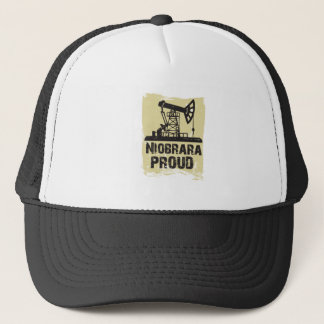 Niobrara PROUD Hat- Light Brown Trucker Hat