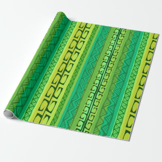 Nipa Hooks - green Wrapping Paper