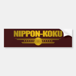 """Nippon Gold"" Bumper Sticker"