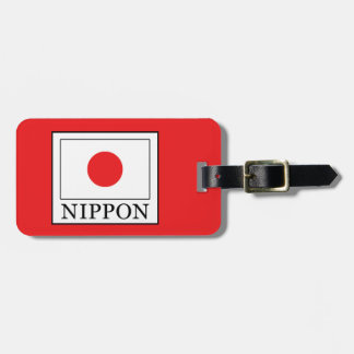 Nippon Luggage Tag
