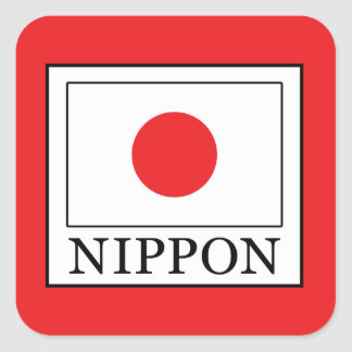 Nippon Square Sticker