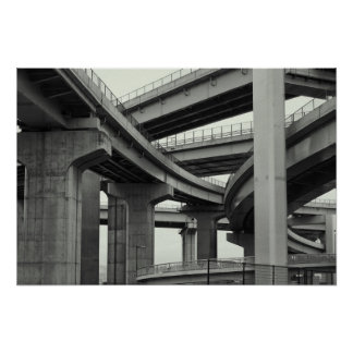 NIPPON SUPER EXPRESSWAY POSTER