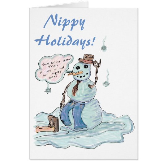 Nippy Holidays Card