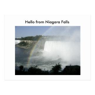 Niragara Fall (70), Hello from Niagara Falls Postcard