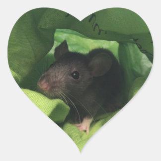 Niro our rat heart sticker