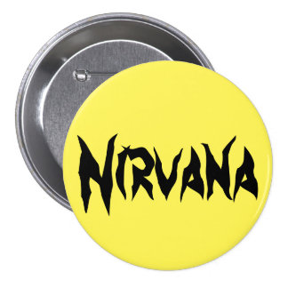 Nirvana 3 Inch Round Button
