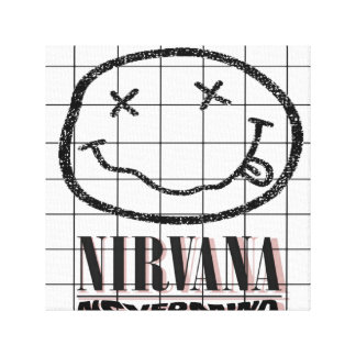 nirvana canvas print