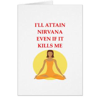 NIRVANA CARD