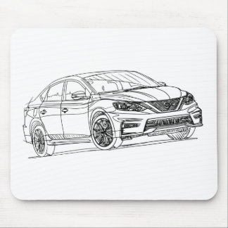 Nis Sentra Nismo 2017 Mouse Pad