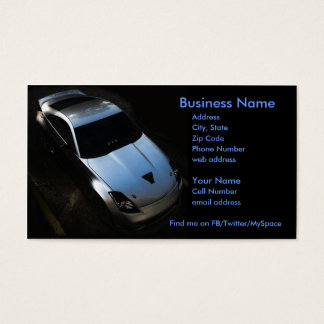 Nismo 350Z Business Card
