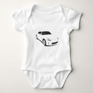 Nissan 350Z Artwork Baby Bodysuit