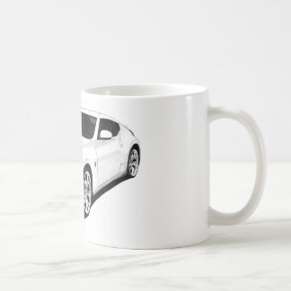 Nissan 370Z Artwork Coffee Mug