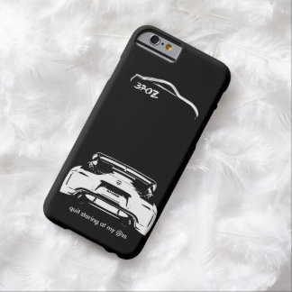 "Nissan drôle 370Z ""a stoppé regarder fixement mes Coque iPhone 6 Barely There"