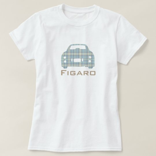 Nissan Figaro Car McFig Silhouette customised T-Shirt
